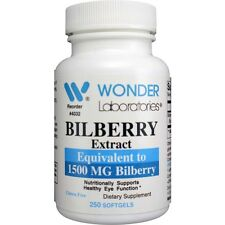 BILBERRY FRUIT EXTRACT #4032 - 250 Softgels
