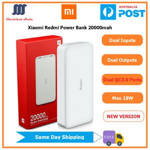 Genuine Xiaomi Redmi Dual QC3.0 Fast Charging Power Bank 20000mah