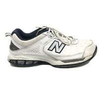 New Balance 806 Tennis Shoes Mens Size 10 Roll Bar White Sneakers