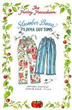 Slumber Buns Pajama pattern by the Paisley Pincushion