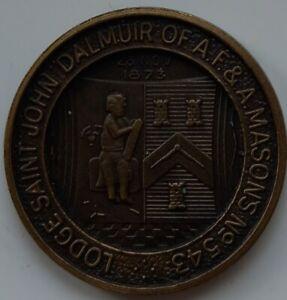 MASONIC MARK TOKEN PENNY LODGE ST JOHN DALMUIR 543