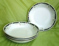 LOT 4pc CROWN MING FINE CHINA JIAN SHIANG MICHELLE SALAD DESSERT SOUP BOWLS 7.5""