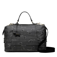 Radley London Radley Stripe Medium Zip Around Multiway Bag Black NEW
