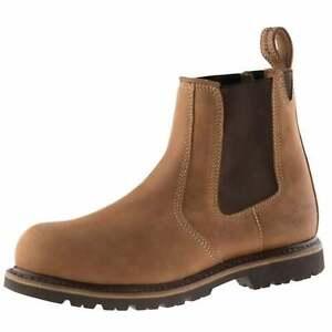 Buckler B1151SM Tan Oak Leather safety dealer boot & midsole 6-13 K3 sole