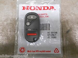 2001-2005 Genuine Honda Civic Pilot Keyless Entry Transmitter Remote Fob