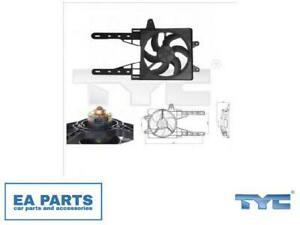 Fan, radiator for FIAT LANCIA TYC 809-0007