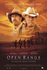 OPEN RANGE Movie POSTER 27x40 French Robert Duvall Kevin Costner Annette Bening