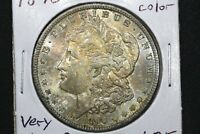 1890 Morgan Dollar, Very Choice BU, colors!