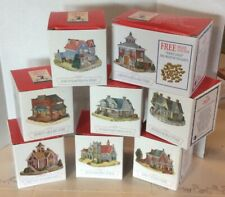 Lot Of 8 Liberty Falls Collection Mountainview Church Dearlys Murs Cottage Etc