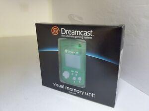 NEW Authentic Official Sega Dreamcast Visual Memory Unit Green VMU MK-50122  A10