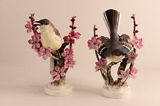 "Royal Worcester Dorothy Doughty Bird ""MOCKINGBIRDS (PAIR)"""