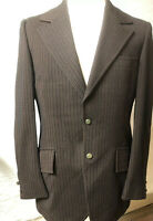 Mens True Vintage Polyester Sportcoat 1970's Size 38 Excellent Condition