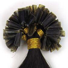 Extensions de cheveux noirs pour femme