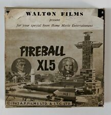 Fireball XL5  - The Day the Earth Froze - Walton 8mm Home Movie A361 b/w