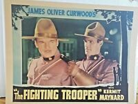 Kermit Maynard The Fighting Trooper 1934 Conn Pictures Corp Lobby Card 45