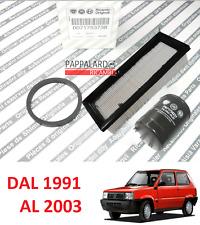 KIT TAGLIANDO FILTRO OLIO ARIA ORIGINALI FIAT PANDA (141) 1100 1100 4X4 TREKKING