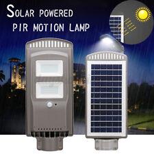 60W LED Solar Street Light Sensor Motion Light Outdoor Road Wall Garden Lamp