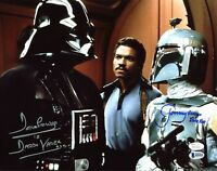 David Prowse & Jeremy Bulloch Star Wars Authentic Signed 11X14 Photo BAS
