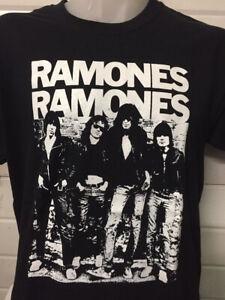 RAMONES Classic LP T-Shirt Black Size Large.New.Punk,Rock,Hardcore,Sex Pistols