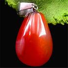 D00605 22x13mm Beautiful teardrop Agate pendant bead