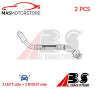 BRAKE HOSE LINE PIPE FRONT ABS SL 4909 2PCS P NEW OE REPLACEMENT