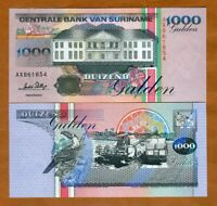 SURINAME - 1000 GULDEN 1995 - PICK- 141B / B527B