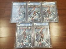 Ultimate Fallout #4 CGC 9.6 Lot of 5 2nd Printing 1st App of Miles Morales