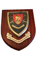 Army Training Lichfield Military Shield Wall Plaque