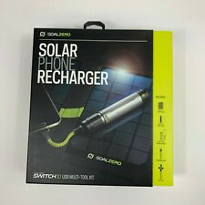 Goal Zero Switch 10 Multi-Tool, Micro USB Charger and Nomad 7 Solar Panel New