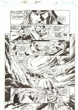 Aquaman #68 p.16 - Ocean Master vs. Aquaman - 2000 art by Steve Epting Comic Art