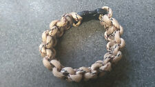 PARACORD BRACELET,6 INCHES,BROWN.