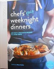 Food & Wine: Chefs' Easy Weeknight Dinners:100 Fast & Delicious Recipes new
