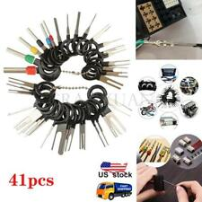 41x Car Wire Terminal Removal Tool Wiring Connector Pin Extractor Puller Kit Set