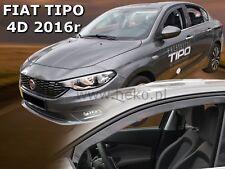 Fiat Tipo 4/5 portes 2016-prés Deflecteurs d'air Déflecteurs de vent 2pcs
