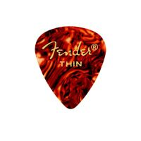 Fender® 451 Shape Classic Celluloid Picks - Shell - Thin - 12 Count Pack