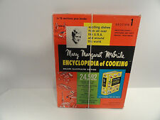 Vintage Mary Margaret McBride Encyclopedia of Cooking Section 1