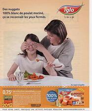 ▬► PUBLICITE ADVERTISING AD IGLO surgelés 2013