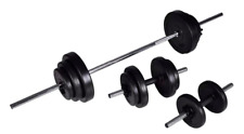 AU SELLER Barbell + 2 Dumbbell Set 30 Kgs- 60.5kg Home Gym Adjustable