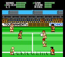 Super Dodge Ball Dodgeball - Rare NES Nintendo Game