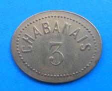 MAISON CLOSE BROTHEL BORDEL Chabanais 3 francs