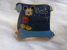Disney Trading Pins 6388: Best Behavior Award