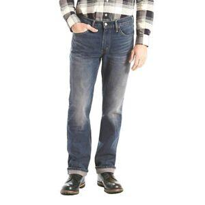 NEW LEVIS 514 Jeans Men Original Regular straight Denim 00514-0801 30IN 32L