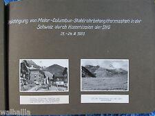 Lukmanierpass / Sedrun Tessin  17 orig. historische Fotos Strommasten Schweiz