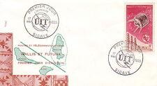 WALLIS ET FUTUNA - MATA-UTU - CENTENAIRE UIT - 17 MAI 1955 - FDC.