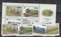 Ireland 1984 Trains Set Plus Mini Sheet MNH J1654