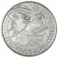Pièce de 10 euros en argent de la région PACA - Euro des régions 2012