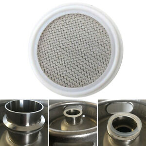 2in. Tri-Clamp Gasket With Stainless Mesh Screen - Distilling Carbon Filter