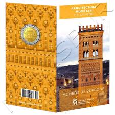 España  Carterita oficial 2 euro 2020 LA TORRE DEL SALVADOR DE TERUEL proof