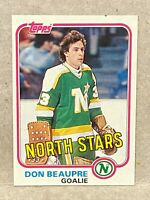 1981 Topps West #103 Don Beaupre RC Rookie Card Stars