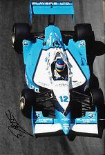 Jacques Villeneuve SIGNED 12x8 Team Green Reynard 95I, Surfers Paradise 1995